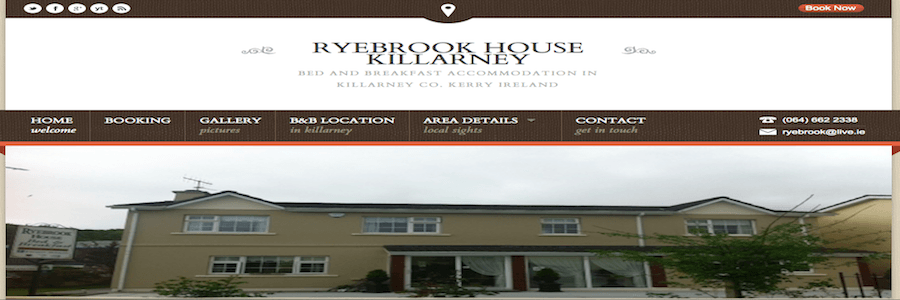 Hotel & Accommodation Website Design