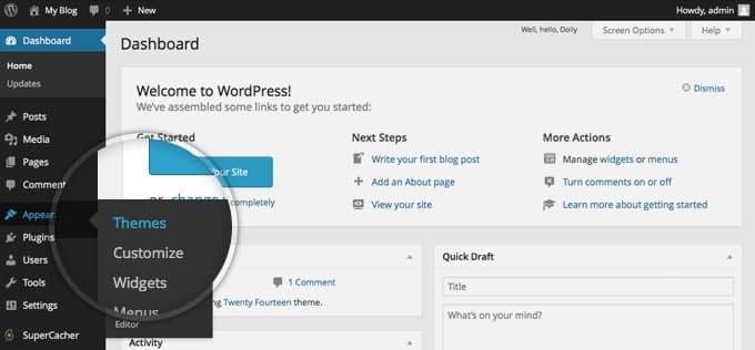 Customiser Your WordPress Website