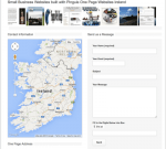 Free Website Deisgn one page business websites in Kerry Cork and Ireland