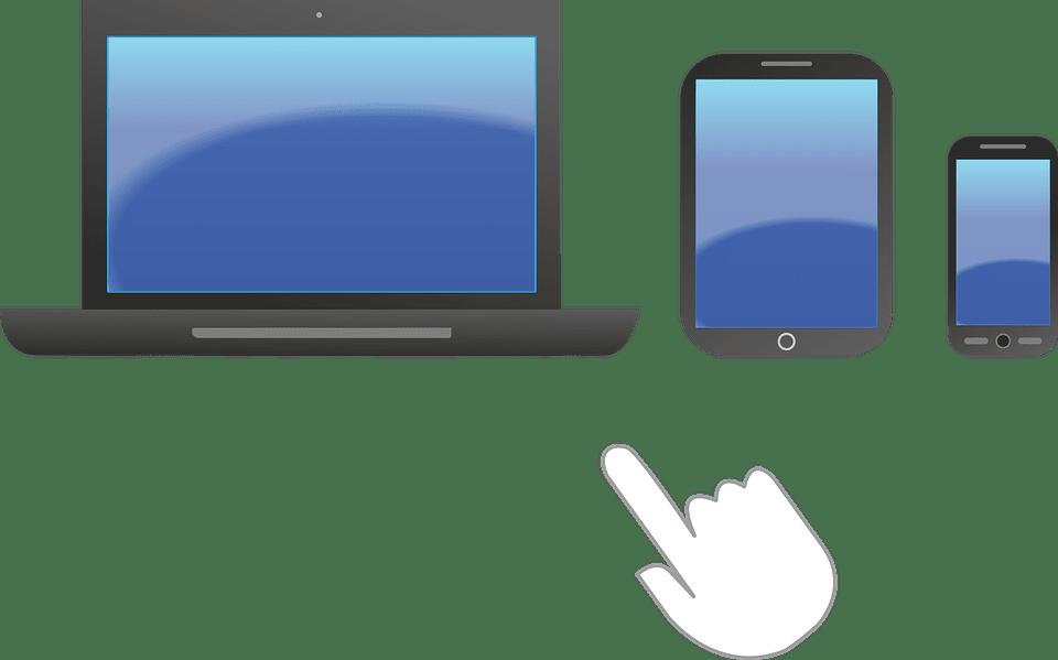 Pinguis responsive websites laptop ipad touch screen smartphone